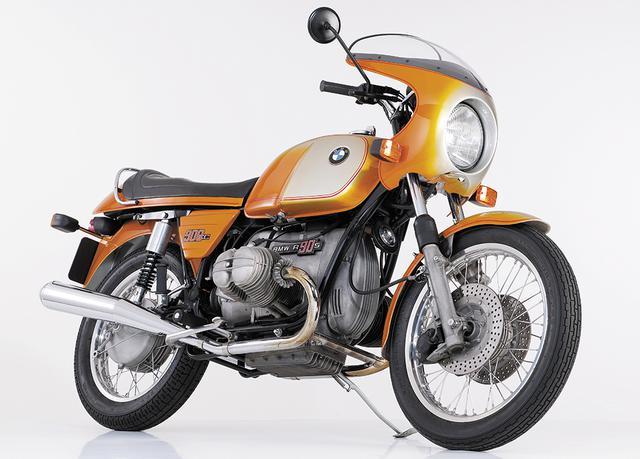 画像: BMW R90S BMWのフラッグシップとして1973~76年まで生産されたR90S。BMWボクサーエンジン史上、初めて900ccの排気量が与えられ、デロルト製キャブやフロントのダブルディスクなどスポーティな装備を持ち、アウトバーン最速とされた。