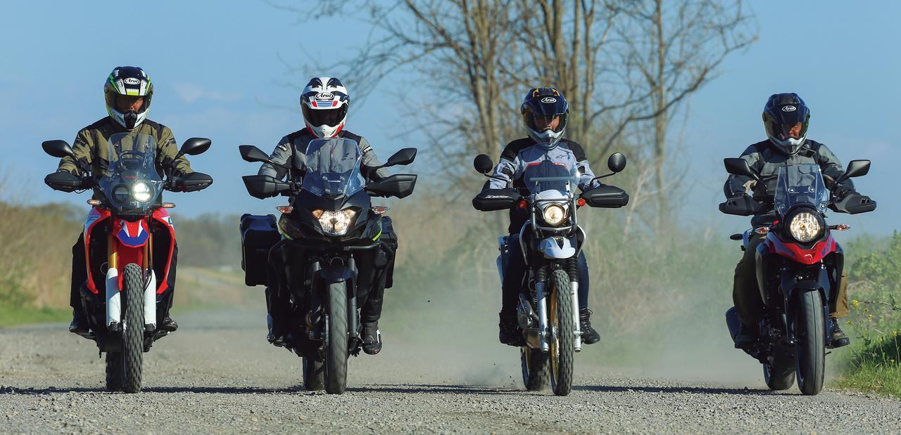 画像: 【比較インプレ】250ccアドベンチャーを徹底検証〈オフロード編〉ホンダ CRF250 RALLY/ヤマハ TOURING SEROW/スズキ V-Strom250/ABS/カワサキ VERSYS-X250 TOURER - webオートバイ