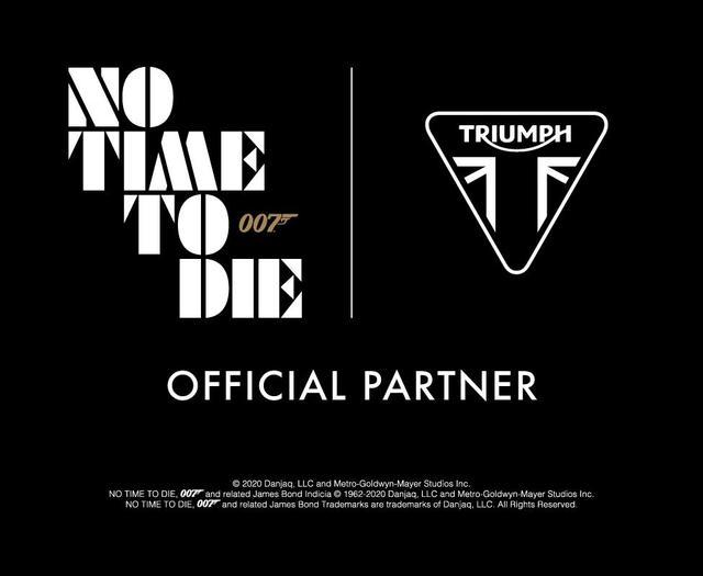 画像: 映画007シリーズ25作目「No Time To Die」にトライアンフの車両が!