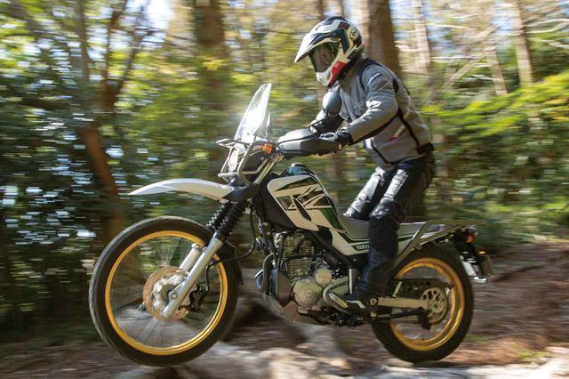 画像: 復活を遂げた名車、ヤマハ「セロー250」。旅装備が充実した最新型「ツーリングセロー」を走行インプレッション! - webオートバイ