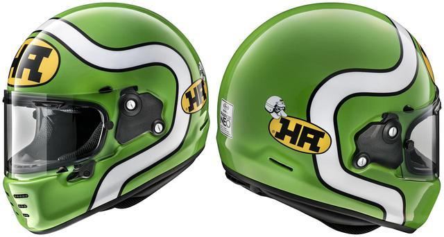 画像: アライヘルメット「ラパイド・ネオ」の第一弾カラーリングモデルは、現代によみがえった「HA」ロゴを採用! - webオートバイ