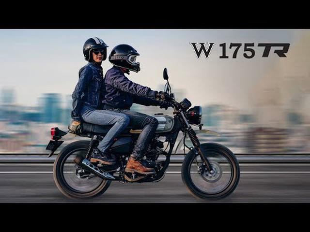 画像: Kawasaki W175TR youtu.be