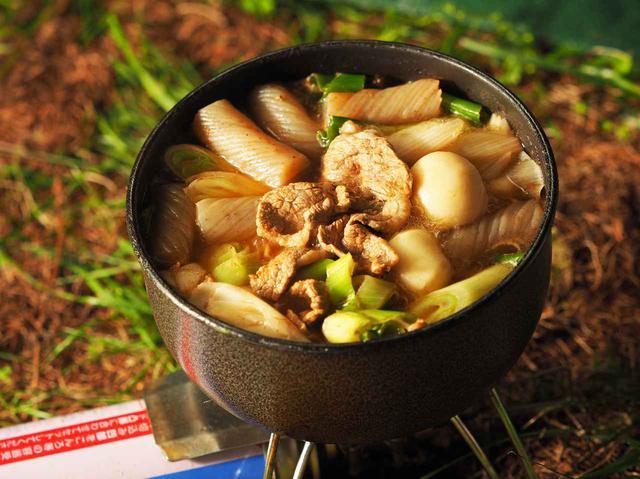 画像: 秋のキャンツーにおすすめな【山形の芋煮】野宿バージョン - webオートバイ