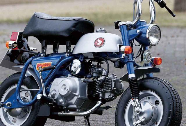 画像: 【歴代モンキー大図鑑】「フルモデルチェンジした2代目モンキー」HONDA MONKEY Z50A(1969年) - webオートバイ