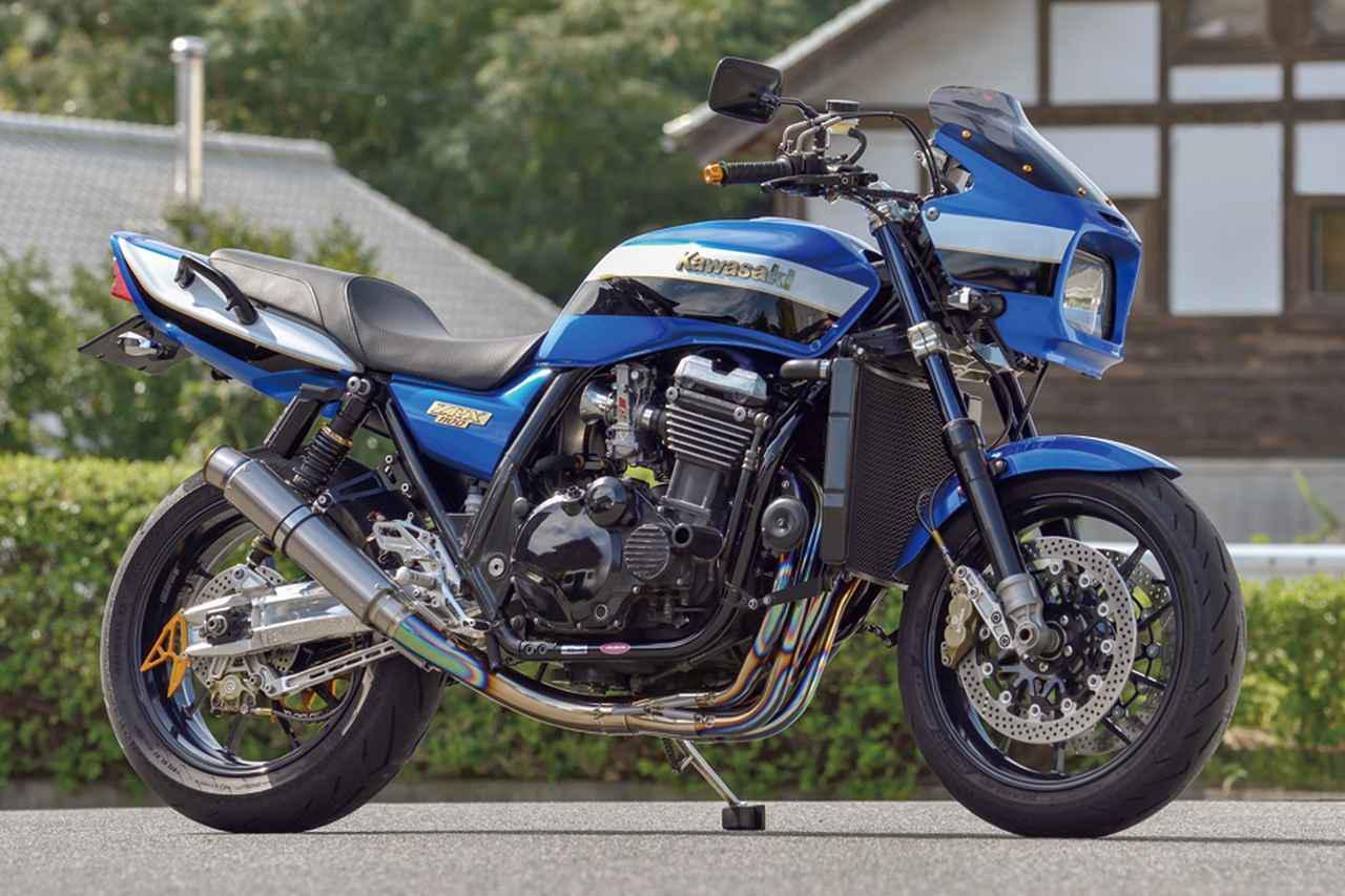 画像: しゃぼん玉ZRX1100 (カワサキZRX1100)/自由度の高い初代1100を元にお勧めメニューをパッケージ#Heritage & Legends - webオートバイ