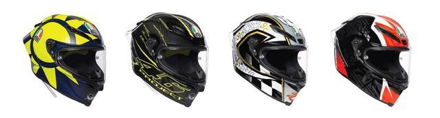画像: AGVのレーシングモデル「PISTA GP R」と「CORSA R」に新色が追加 - webオートバイ