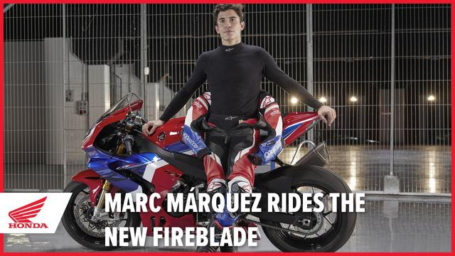 画像: Marc Márquez rides the new 2020 CBR1000RR-R Fireblade SP youtu.be