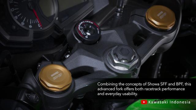 画像: Ninja ZX-25R: Vol.6 High-Grade Suspension Components youtu.be
