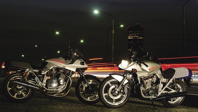 画像: スズキ GSX1100S 80年代初頭に世界を驚かせたのがGSX1100Sカタナ。ドイツ・ターゲットデザインの手による抜き身の日本刀をイメージしたという斬新なデザインは、「エンブレムを見ないとどのメーカーのバイクかわからない」などと揶揄された当時の日本車のデザイン評価を一変させ、今なお世界的に高い評価を得ている。