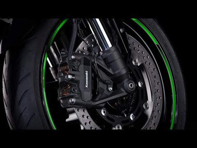 画像: Ninja ZX-25R: Vol.4 High-Performance Supersport Brakes youtu.be