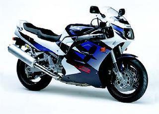 スズキ GSX-R1100W 1998 年