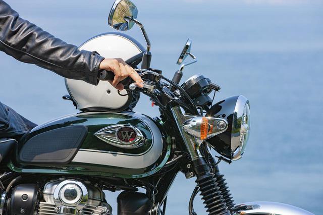 画像: 【人気投票企画】カワサキ「W800/STREET/CAFE」どれが好き? - webオートバイ