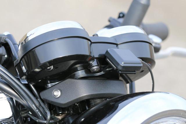 画像: ETC2.0車載器も標準装備 。(これはW800シリーズにはすべて備わっています)