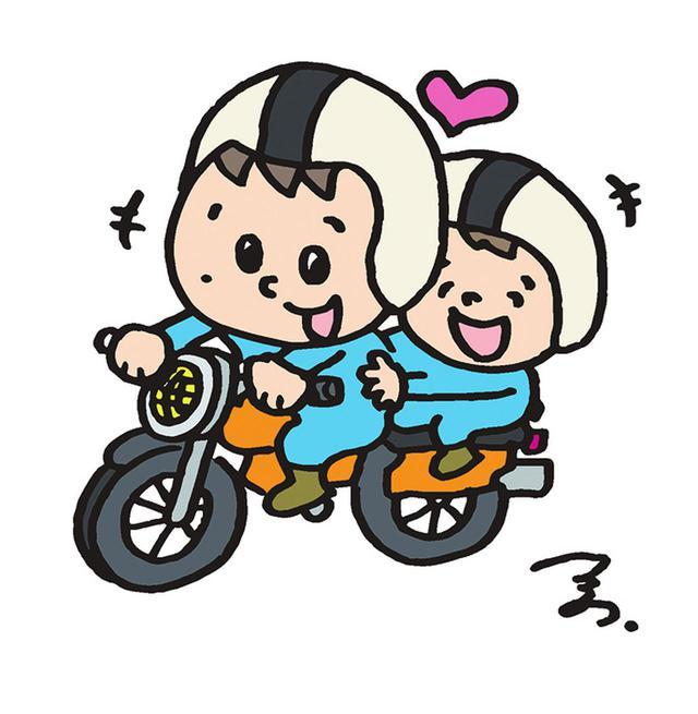 画像: ♯パパツーって何? 「パパと楽しむツーリング」略して『♯パパツー』!バイク王イメージキャラクターのつるの剛士さんが「バイクは親子で一緒に楽しむもんでしょー!」という強い思いに、バイク王さんが共感! それじゃあ、この考え方や活動を広げていこ〜! と、一緒になってガンバっている活動を象徴するキーワードなんだよ♪