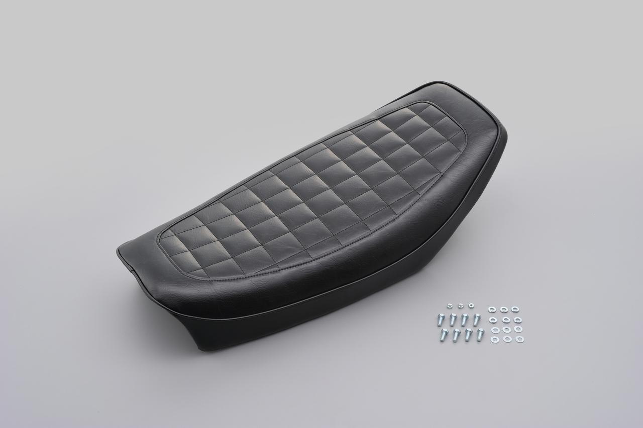 画像5: デイトナからヤマハ「SR400/500」向けのノスタルジックシートが登場、シート高を約25mmダウンできる!