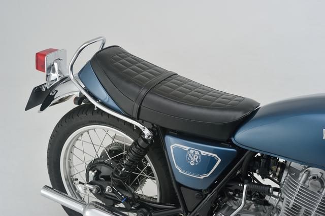 画像3: デイトナからヤマハ「SR400/500」向けのノスタルジックシートが登場、シート高を約25mmダウンできる!