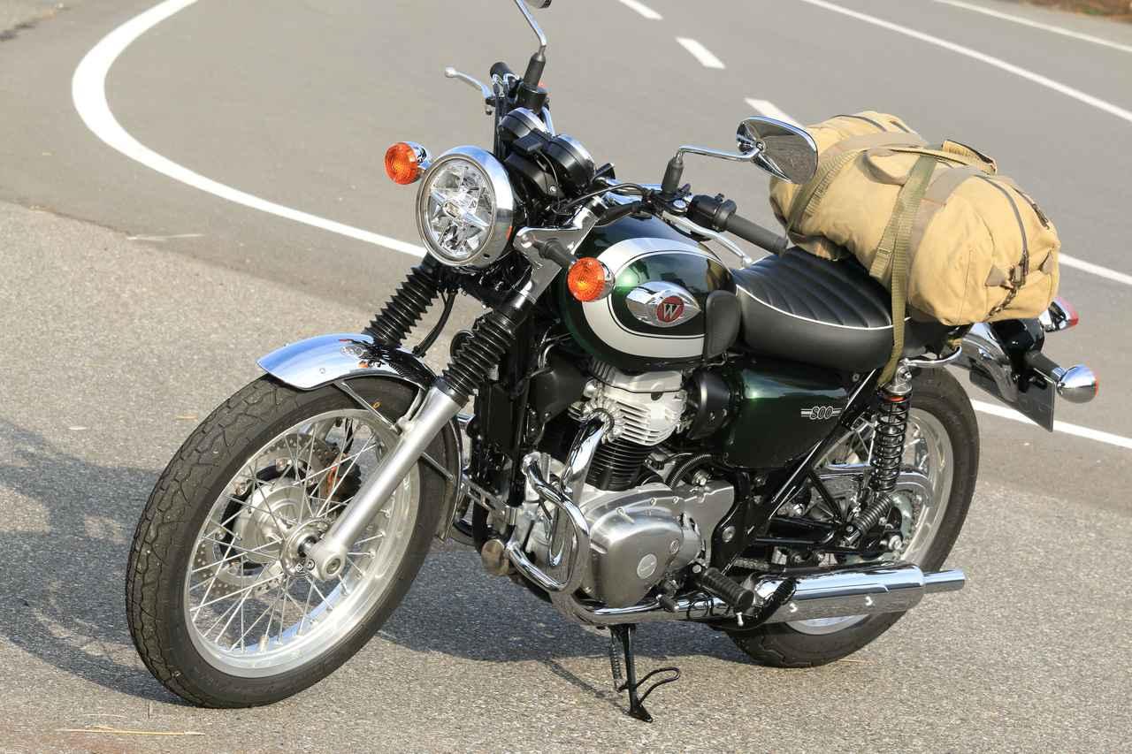画像3: W800と帆布のバッグの相性の良さは異常!