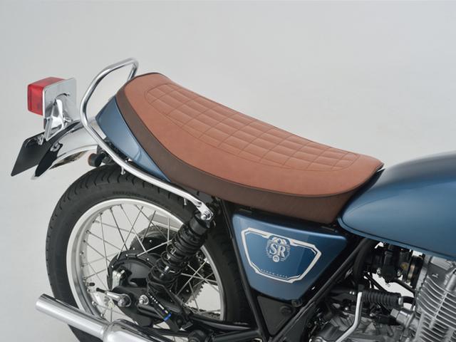 画像7: デイトナからヤマハ「SR400/500」向けのノスタルジックシートが登場、シート高を約25mmダウンできる!