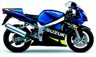 スズキ GSX-R600 2001年