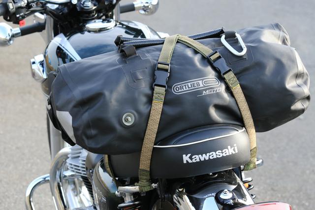画像2: ロックストラップでバッグを積んでみた!