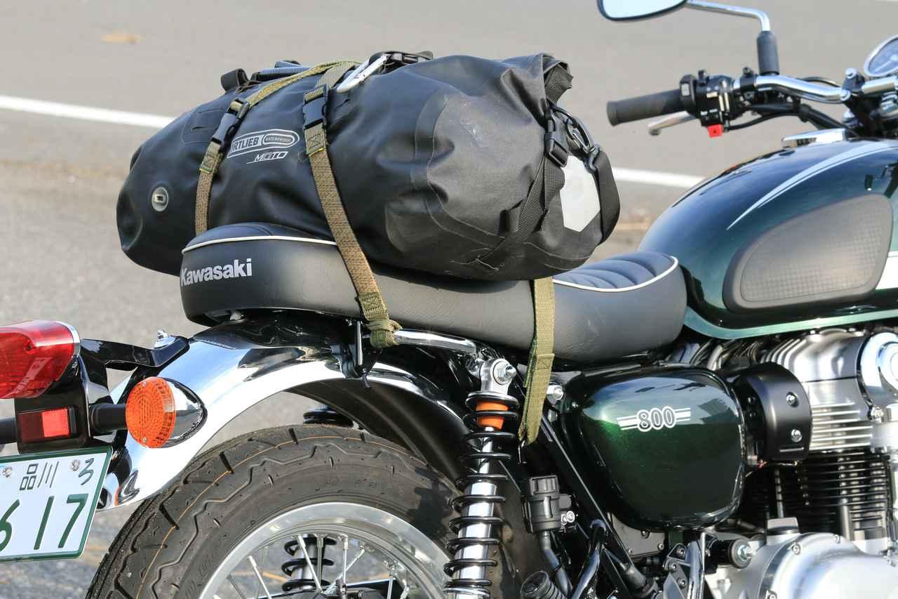 画像3: ロックストラップでバッグを積んでみた!