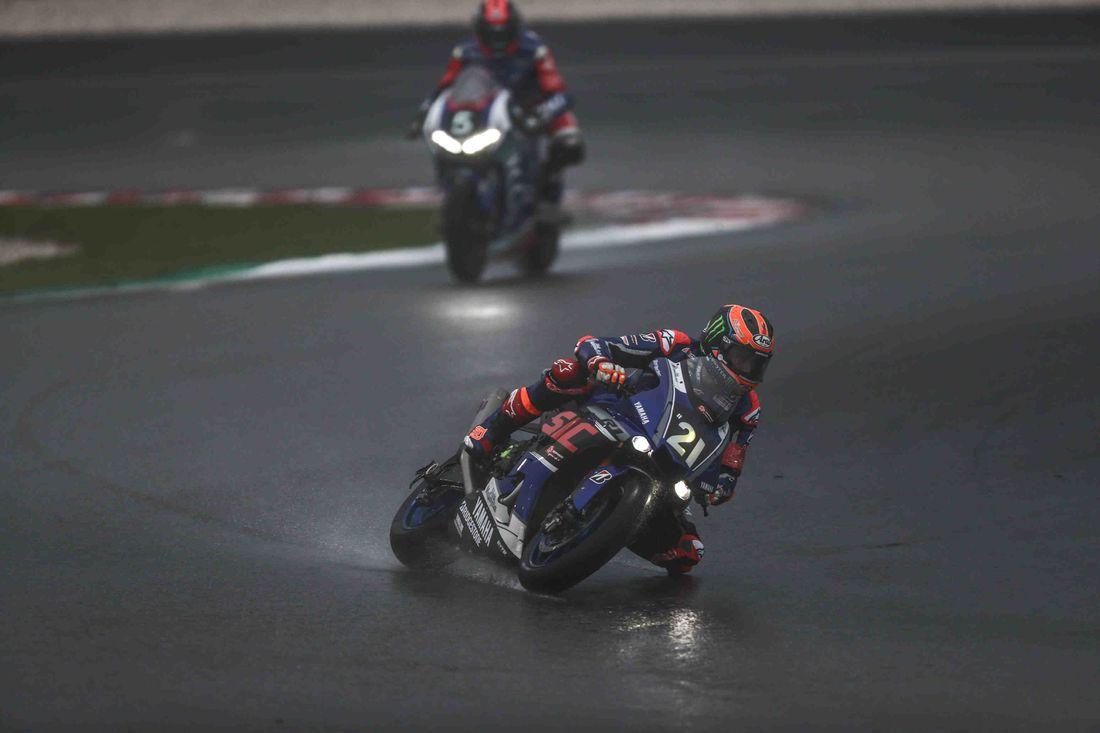 画像: ついにレース再開! 序盤は#21vd・マークと#5ディ・メリオがトップ争いでした