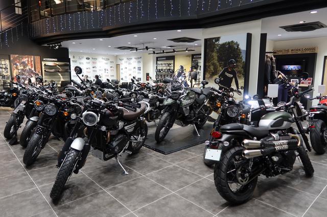 画像4: アジアの旗艦店「トライアンフ東京」で、新車の販売登録台数が多かったトップ3を発表します!