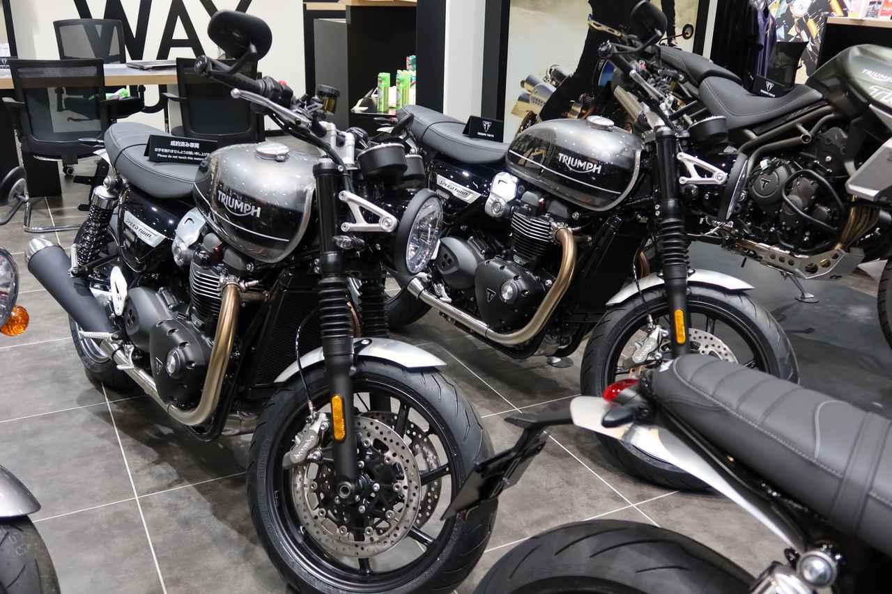 画像3: 2019年に一番売れたトライアンフのバイクは何か? TRIUMPH TOKYOで聞いてきました!