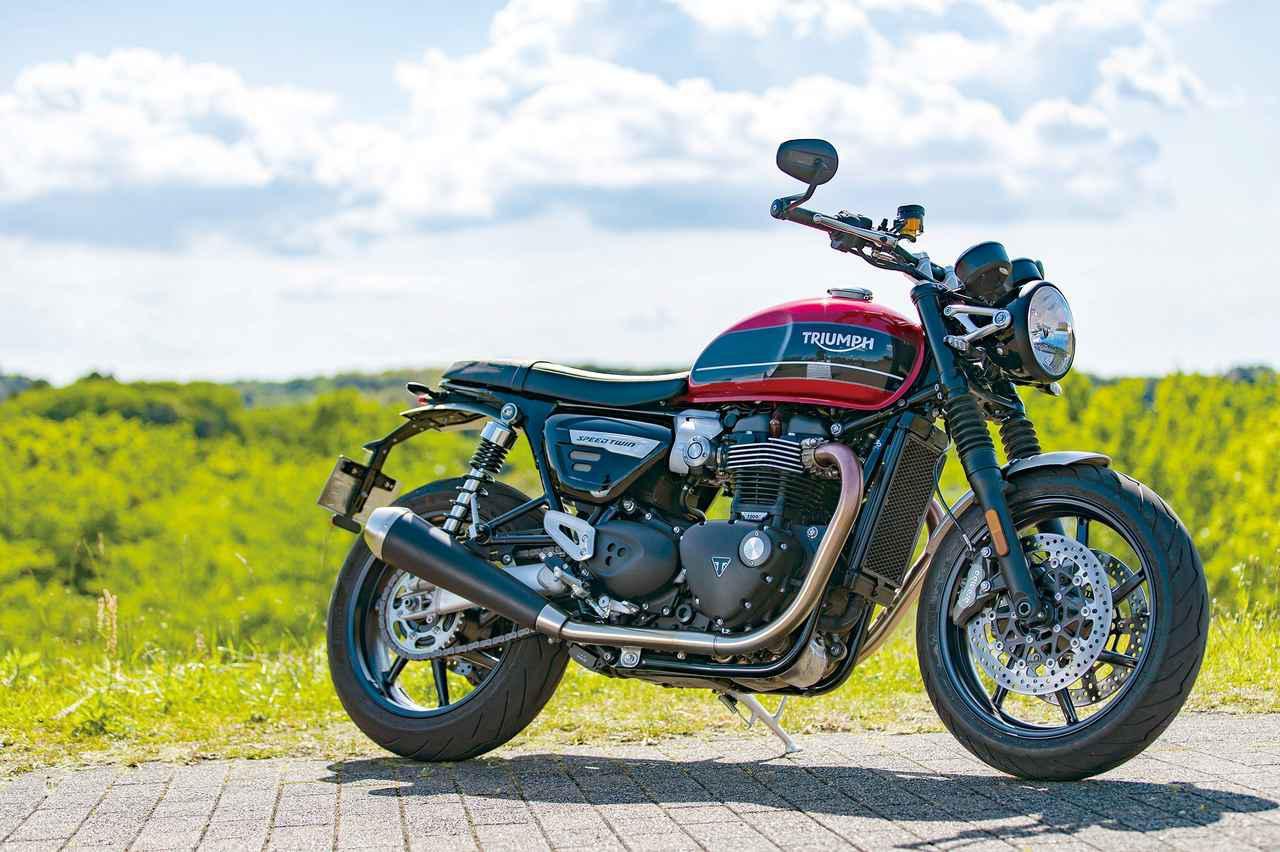 画像: 伝統のクラシックスタイル!『TRIUMPH SPEED TWIN』#魅惑のネオクラシックBRAND - webオートバイ