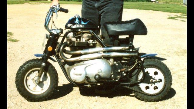 画像: [Honda] 体は小さくても、ハートはビッグ!? なカスタムバイクをご紹介します!! [Triumph] - LAWRENCE - Motorcycle x Cars + α = Your Life.