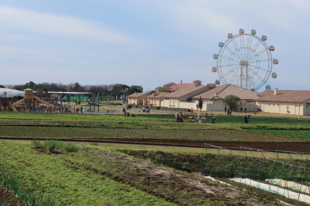 画像: ソレイユの丘。この日はバイクもいっぱい駐まっていました。いまはツーリングスポットになっているのかもしれませんね。