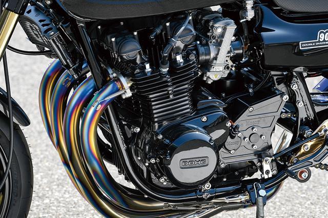 画像: エンジンは同店では珍しいと言えるJE製φ70mmピストンでの[903→]1015cc仕様とした。とは言え、シリンダーヘッドやシリンダーほかの内燃機加工はいつものブルドック流で、その意味ではGT-Mの標準。フルカスタムZでありながら、普段使いもできるのは当然の仕様だ。