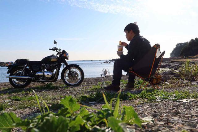 画像: 戻りましてnow。セルフタイマーでパシャ。なんだか寂しいけれど、心は満たされているんです。