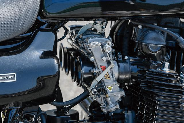 画像: キャブレターはFCRφ35mmのショートファンネル仕様。FCR/TMRやMJN仕様などのセレクト、エンジン仕様による口径等も熟考される。