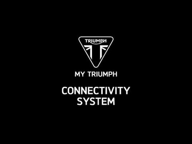 画像: My Triumph Connectivity System www.youtube.com