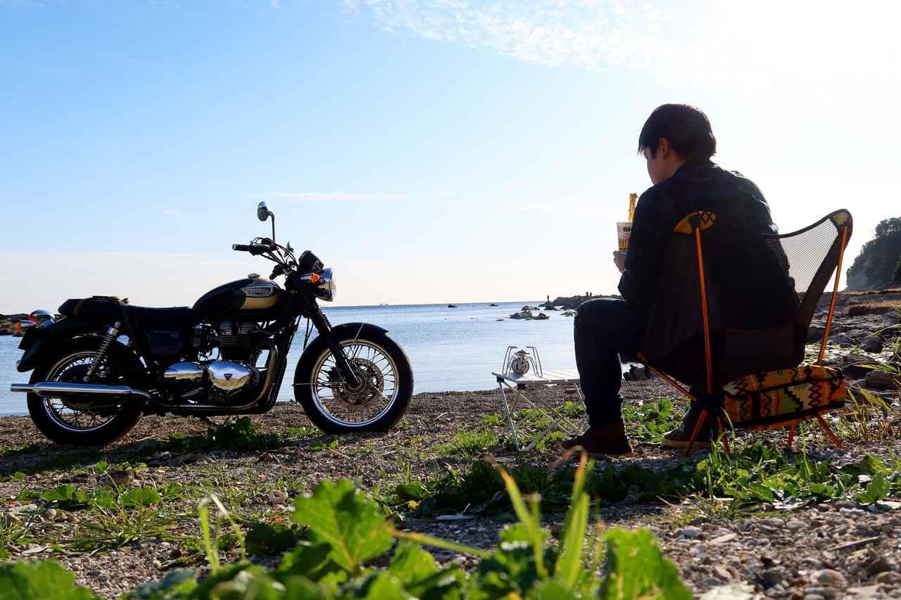 画像: ソロのデイキャンプ・ツーリングは楽しいのか? シェラカップとストーブを持って湘南散歩から三浦半島の穴場スポットへ - webオートバイ