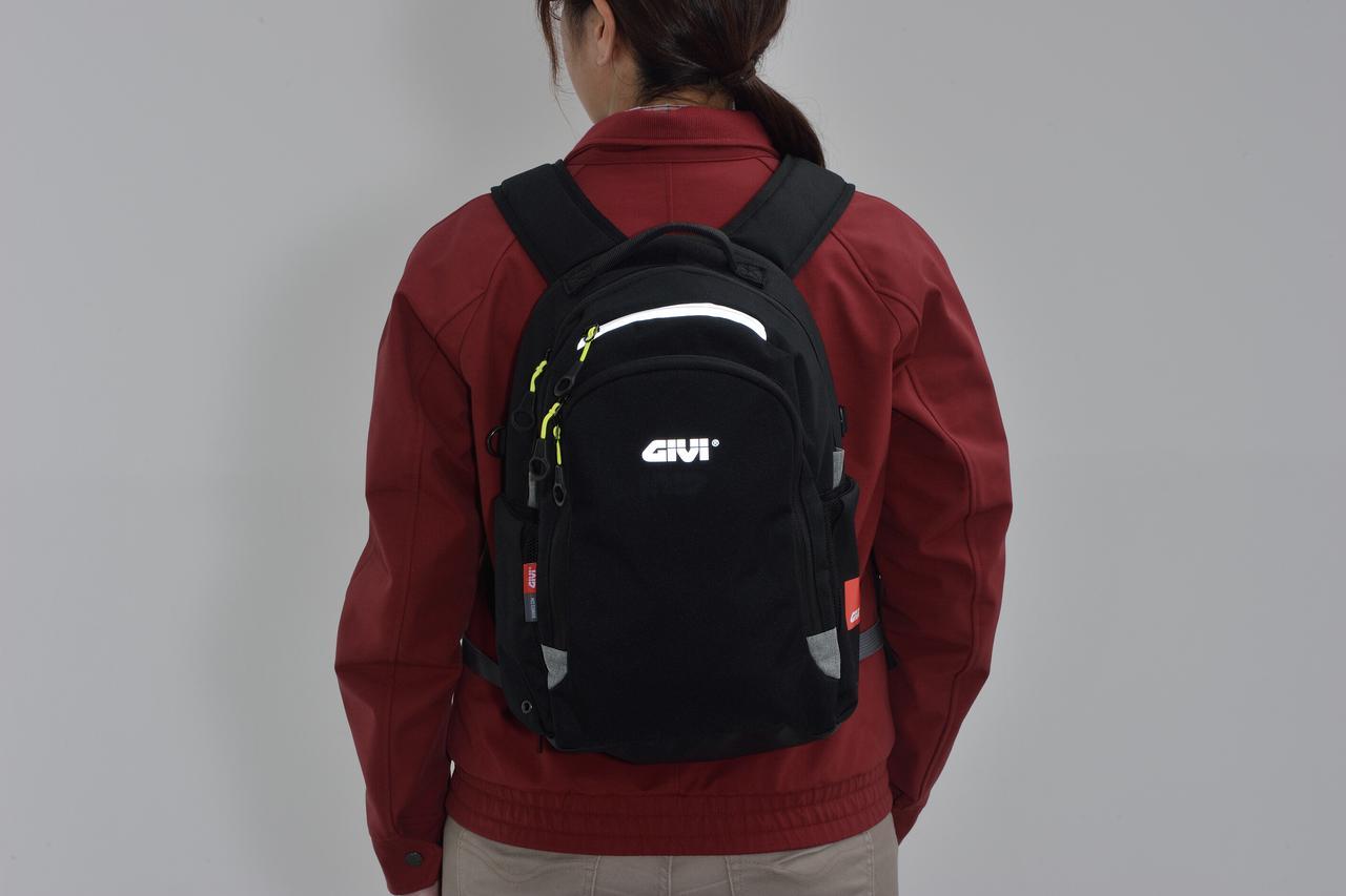 Images : 14番目の画像 - GIVI EA124 バックパックの写真をもっと見る - webオートバイ