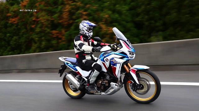 画像: Honda CRF1100L Africa Twin Test Ride WEB Mr. Bike www.youtube.com