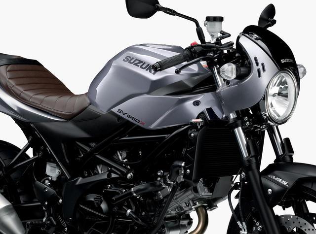 画像: 【前年モデルとの比較画像あり】微妙に変わった! SV650Xの2019年モデル、1月29日(火)発売!! - webオートバイ