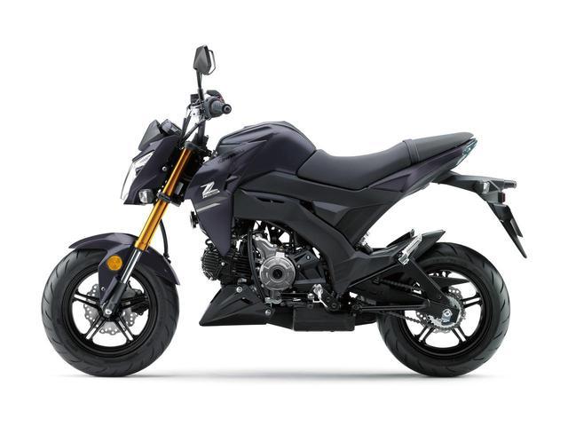画像2: 2月1日発売!カワサキ「Z125 PRO」原付二種免許で乗れるカワサキのファンバイクに2020年カラーがラインアップ!