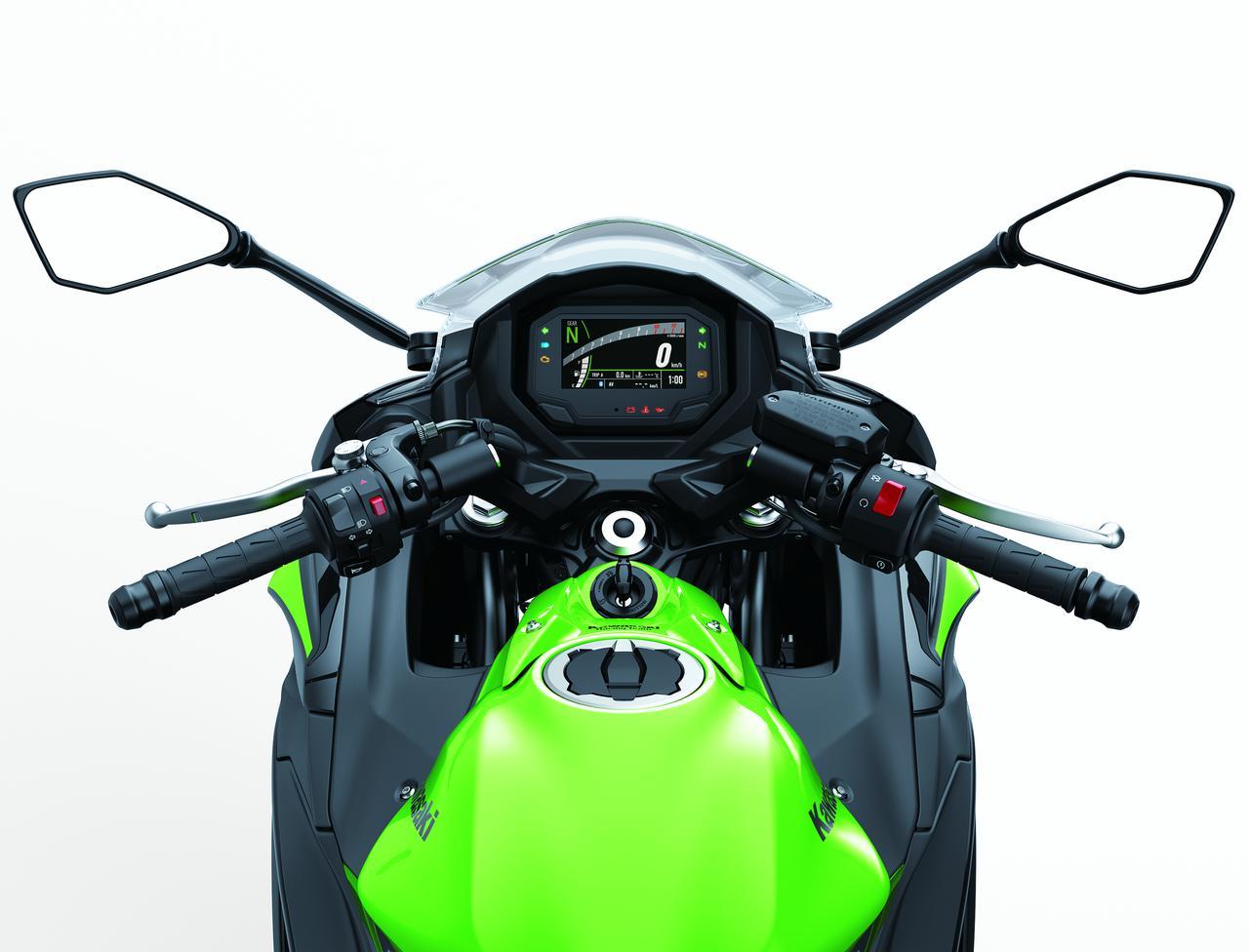 Images : 9番目の画像 - Ninja 650/KRT EDITIONのディテールカットをもっと見る - webオートバイ