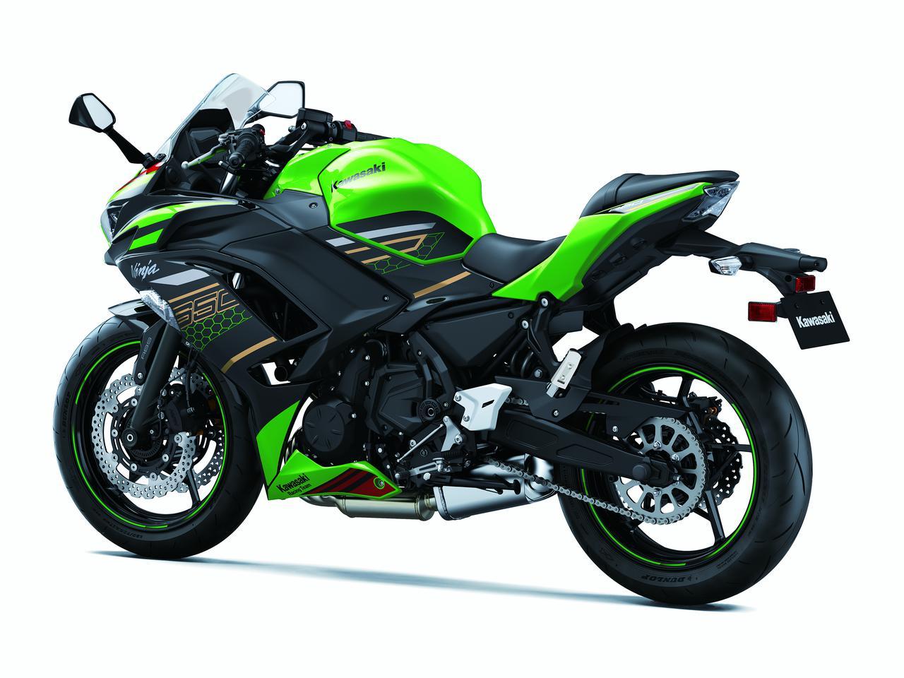 Images : 12番目の画像 - Ninja 650/KRT EDITIONのディテールカットをもっと見る - webオートバイ