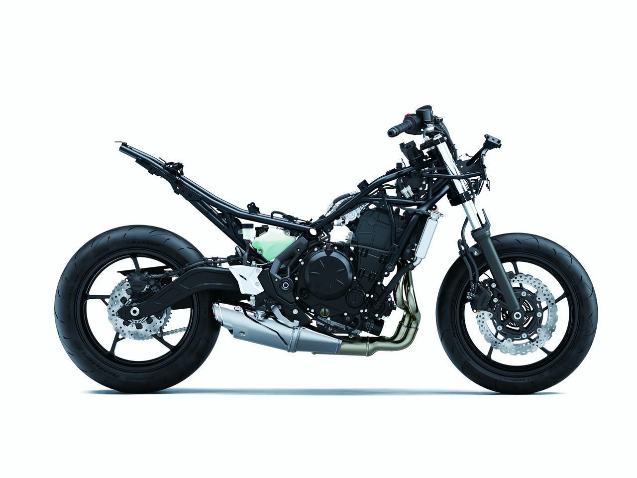 Images : 16番目の画像 - Ninja 650/KRT EDITIONのディテールカットをもっと見る - webオートバイ