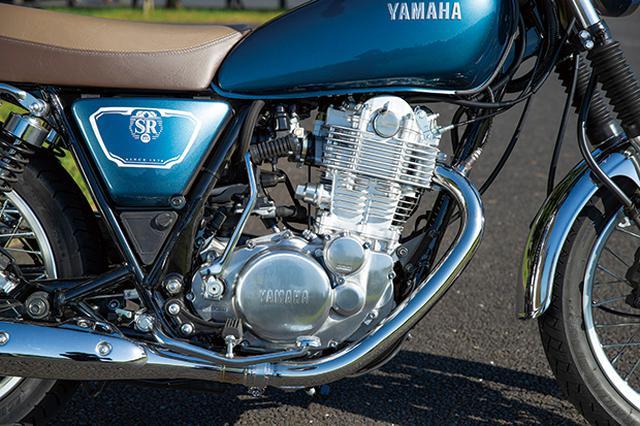 画像: ビッグシングルらしさにあふれたエンジンは、力強いトルクとリズミカルな鼓動を楽しめる。