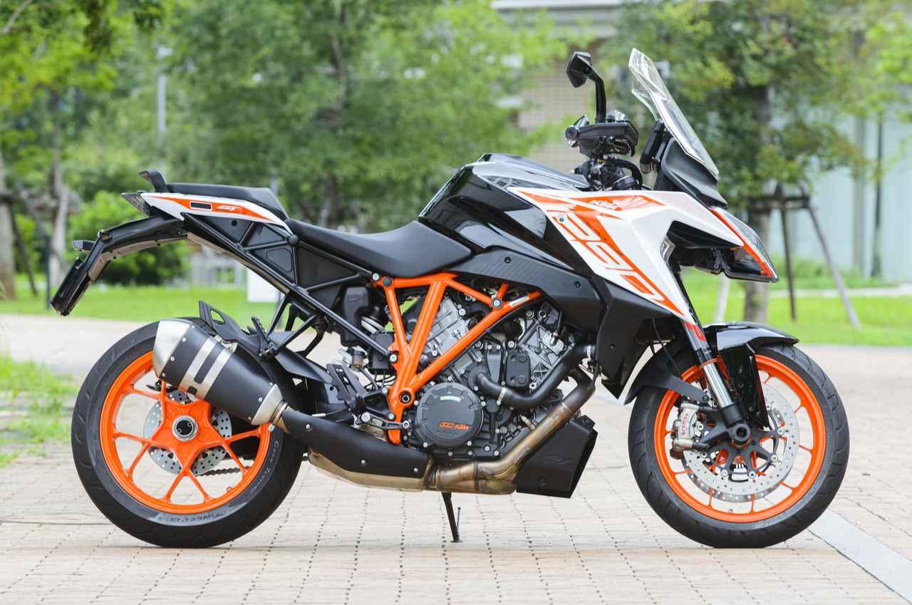 Images : 4番目の画像 - KTM 1290 SUPER DUKE GT 写真をまとめて見る! - webオートバイ