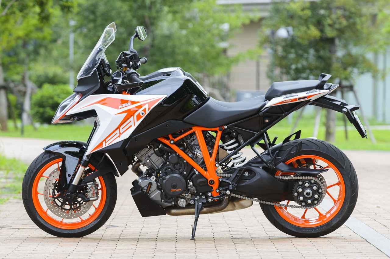 Images : 2番目の画像 - KTM 1290 SUPER DUKE GT 写真をまとめて見る! - webオートバイ
