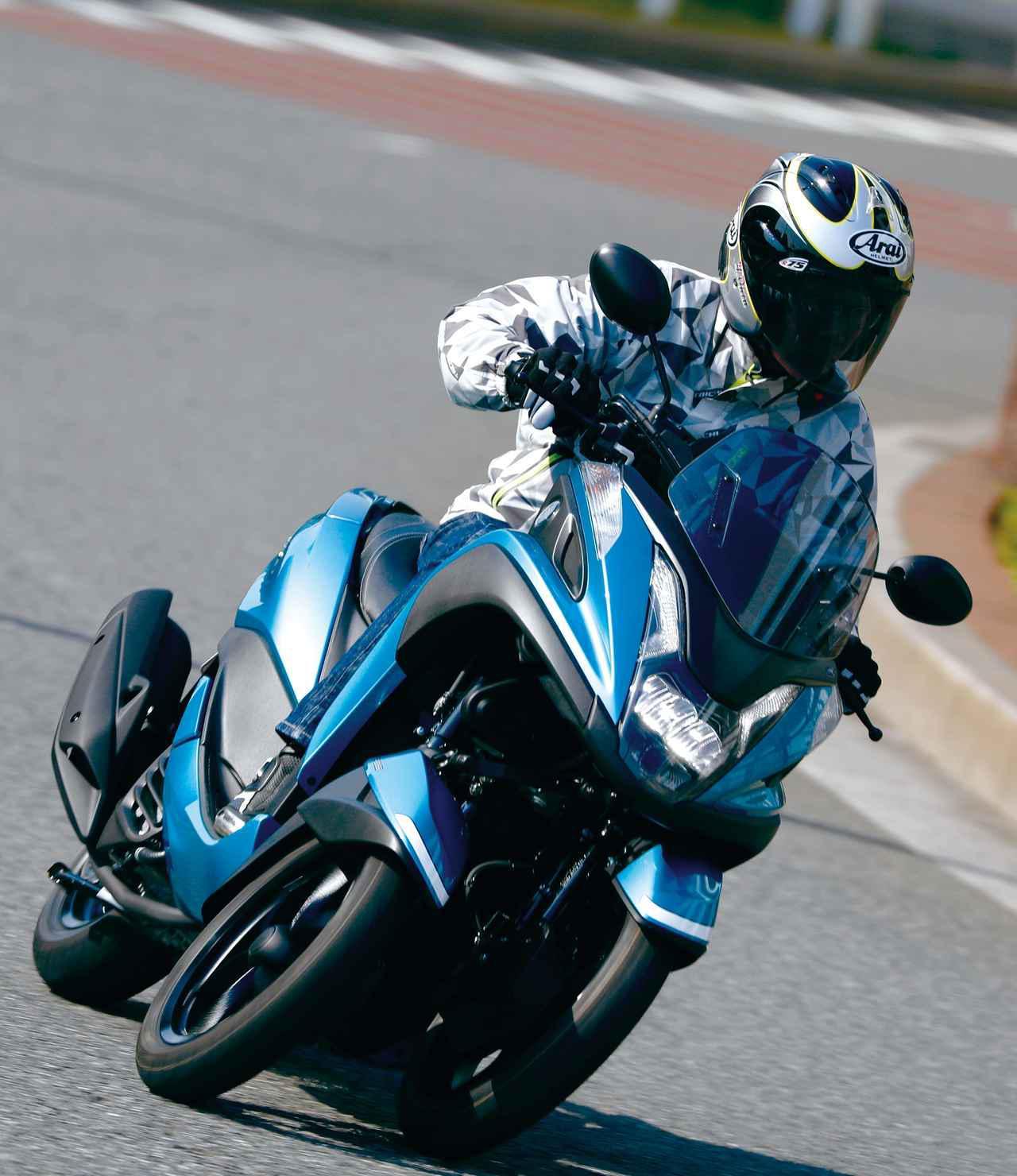 画像: <試乗インプレ>ヤマハ TRICITY 125/ABS- webオートバイ