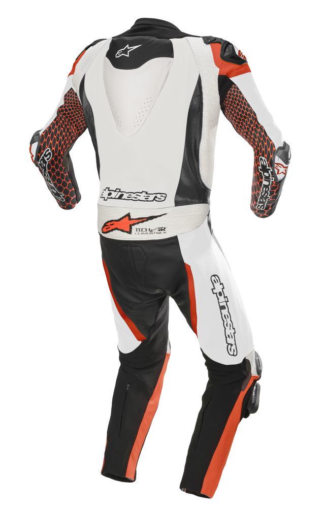 画像2: アルパインスターズから〈TECH-AIR〉エアバッグ対応ハイエンドレーシングレザースーツが新登場