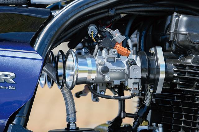 画像: 燃料供給はECU/ハーネス等の供給とセットアップにPAMSの協力を得たフューエルインジェクション。A16はこのFIと1045ccエンジンとで、新車としての認可も得ている。