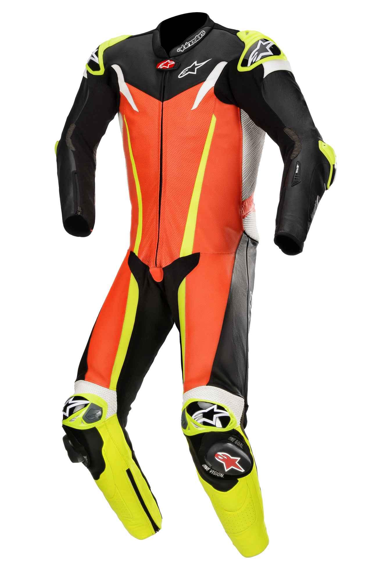 画像3: アルパインスターズから〈TECH-AIR〉エアバッグ対応ハイエンドレーシングレザースーツが新登場